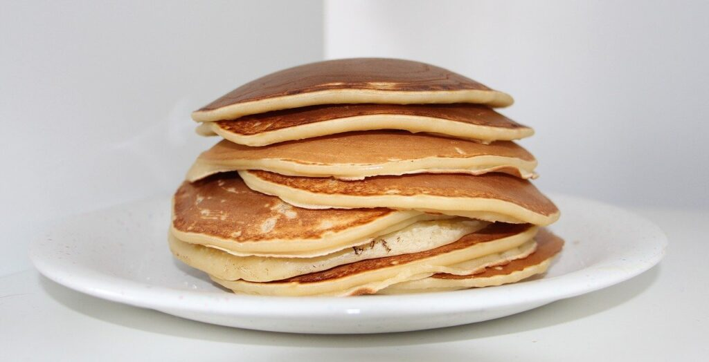 pancake, crepes, eat